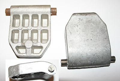 Gegenplatte passend für ATIKA ALF 2600 Walzenhäcksler Häcksler