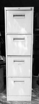Tall Beige File Cabinet Hon 4-drawer Filing Cabinet. Local Pick Up Only.