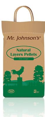 Mr Johnson's Natural Layers Pellets 5kg