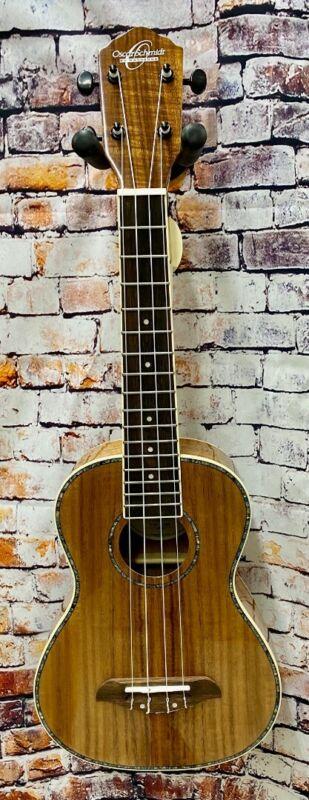 Oscar Schmidt Model OU5K-A , Concert Size Koa Ukulele with Deluxe UB3 Gig Bag