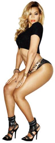 BEYONCE Sexy Superstar Singer GRAMMY Winner Full Body Window Cling Decal Sticker