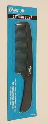OSTER #76002 PRO BARBER'S ORIGINAL HAIR STYLING COMB, FREE S