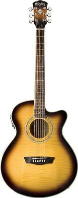 Washburn Festival Series EA15ATB Mini Jumbo Acoustic Electric Guitar-NOS B Stock