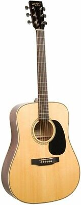 Recording King RD-06W Solid Top Dreadnought Acoustic Guitar Natural Finish - NOS