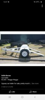 Gypsy car trailer suitable for camping van Mount Austin Wagga Wagga City Preview
