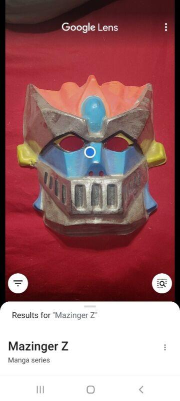 Rare VINTAGE 1977 Ben Cooper Mazinga Z Halloween Mask USED Condition
