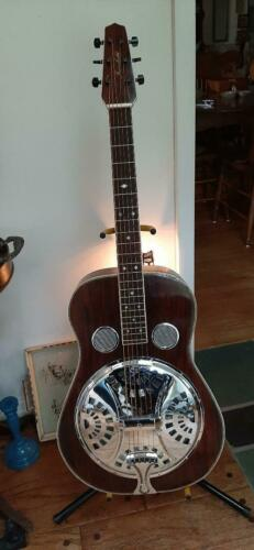 Fairchild Dobro, Brazilian Rosewood Front , Back and Sides and head plate