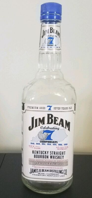 Jim Beam University of Kentucky 7 Years for 7 Championships collectors bottle