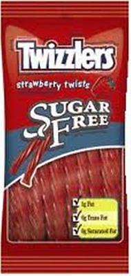 Twizzlers Strawberry Twists Sugar Free 12 Pack (5oz Per P...