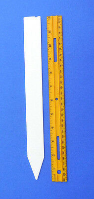 """Molded Plastic Field /Garden/ Plant Stakes -Made in USA -12"""" X 1.25"""" -Heavy Duty"""