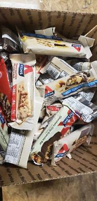 84 ASSORTED ATKINS LOW CARB  /  NUTRITION BARS NO RESERVE LQQK  Atkins Low Carb