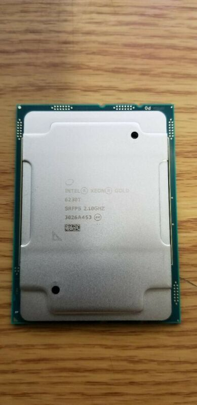 intel xeon gold 6230T srfps 2.10GHZ