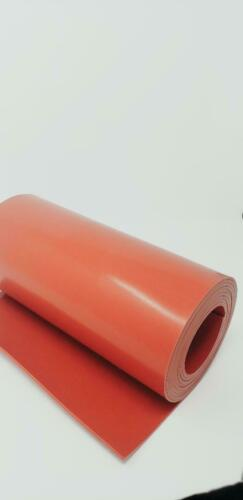"SILICONE RUBBER ROLL 1/32 THK X 12"" WIDE x 24"" LONG DUROMETER 55 FREE SHIPPING"
