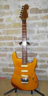 Vintage Schecter Van Nuys Stratocaster flame maple & ebony neck North Ryde Ryde Area Preview