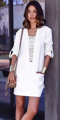 Iro Odriane Ivory Dress Size 38/UK10 £212