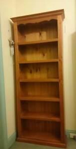 Wooden book shelves Canterbury Boroondara Area Preview