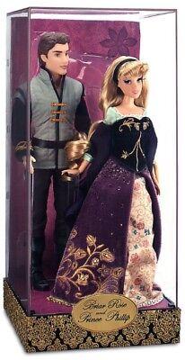 Disney Fairytale Designer DFDC Sleeping Beauty Briar Rose Aurora Prince Doll Set