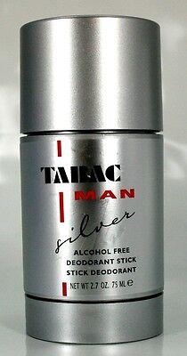 Tabac Man Silver Deodorant Deo Stick ohne Alcohol 75ml