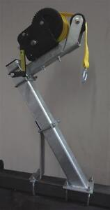 Heavy Capacity Stand W/2500 lb Dutton Lainson Winch and Strap 2030SW