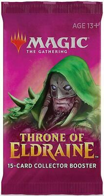 MTG Throne of Eldraine Collector Booster Pack Factory Sealed English New
