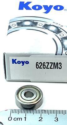 Koyo 626-zz Mini Deep Groove Ball Bearings 6x19x6mm 626zz Same Day Shipping