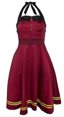 Disney Dresses For Adults (NWT DISNEY PARKS HOLLYWOOD TOWER OF TERROR BELLHOP DRESS SIZES M L XL 1X 2X)