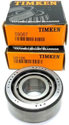 Timken Made In Usa 0906709196 Tapered Roller Bearing 0.75x1.938x0.835 Inch