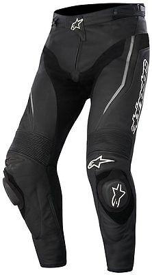 ALPINESTARS LEATHER TRACK PANTS BLACK 3129015-10 SIZE EURO 52 Alpinestars Track Pants