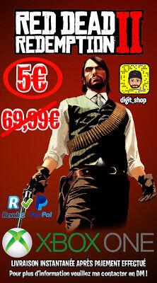 ⚜️ Red Dead Redemption 2 Xbox One [NO CD/ NO CODE] ⚜️ segunda mano  Embacar hacia Spain