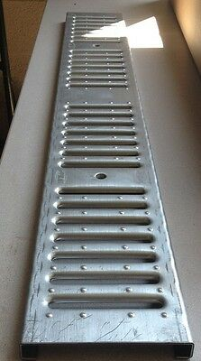 Zurn Z886 Fg Fabricated Galvanized Steel Slotted Grate P6-fg
