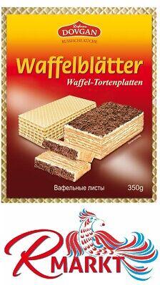 Tortenboden DOVGAN Waffelblätter Tortenbodenplatten Коржи для торта вафельные
