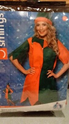 Smiffys Womens Elf Outfit Adult XL  New in package