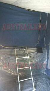 Camper trailer 7x4 box trailer with tent top ready for EOF Year Clontarf Redcliffe Area Preview