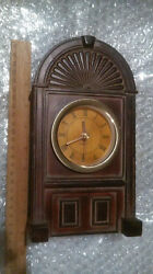 Mantle Clock Radio Replica Roman Numeral Clock Face Battery Powered Desk Office