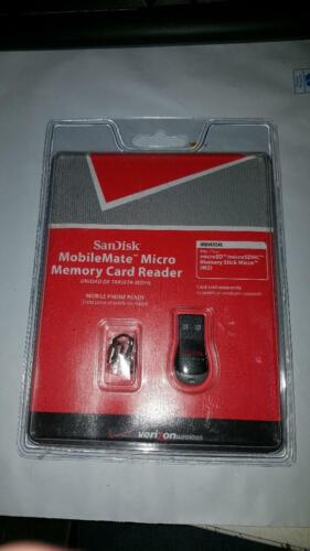 SanDisk MobileMate Micro Memory Card Reader(Verizon Wireless)FREE 1ST CLASS SHIP