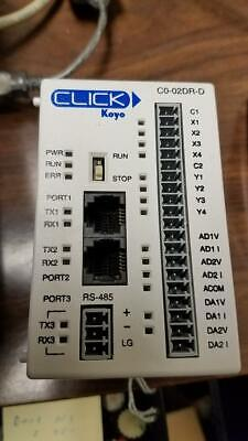 Automation Direct Click Plc C0-02dr-d --7--