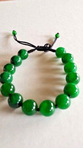 Jade grade A from Hong Kong  bracelet green $900. value