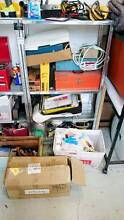 Work Bench, Steel cabinet, Shelves, Cartons Petersham Marrickville Area Preview