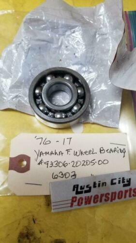 1976-17 6303 f. wheel bearing yamaha