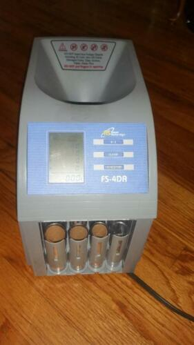 ROYAL SOVEREIGN FS-4DA COIN ROW AND SORTER WITH DIGITAL DISPLAY