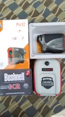 Bushnell Pro X2; The #1 Rangefinder; Slope Switch w/CASE