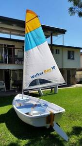 Walker bay 10 with sail kit, tubes, and new trolling motor. Bray Park Pine Rivers Area Preview