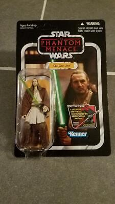 Star Wars Vintage Collection Qui-Gon Jinn VC75 Action Figure with Starcase