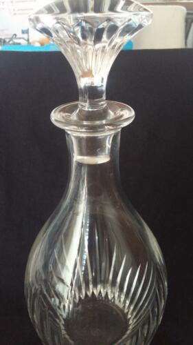 "Baccarat Cut Crystal ""MASSENA"" Decanter"
