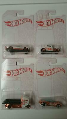 Hot Wheels Pearl & Chrome Set Of 4 Cars #1 #2 #3 and Chase Car