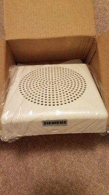 Siemens 135748 Se-w 500-636030 Fire Alarm White Speaker
