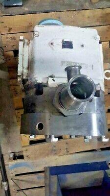 Used Waukesha Pump Serial 86178 Ss Size 220 Wbaldor Super E Motor Drive 10hp
