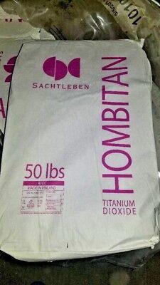 (NEW Sachtleben Hombitan AFDC Titanium Dioxide (50 lb. bag) - Chemical, Powder)