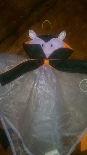 HALLOWEEN BAT HANGING MULTI-COLOR WIND CHIME Avon Covered Porch Halloween Sealed