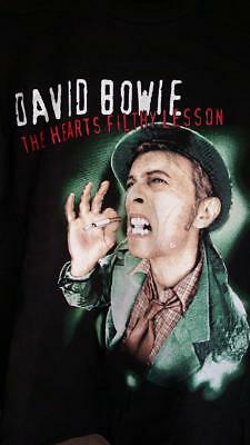 DAVID BOWIE 1995 The Hearts Filthy Lesson vintage llicensed concert shirt XL NEW